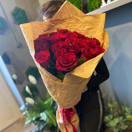 Роза « Фридам» 21 шт