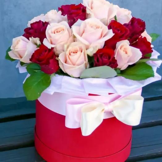 Коробочка с розой
