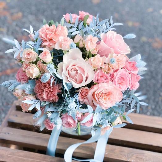 Авторский букет «облако цветов»