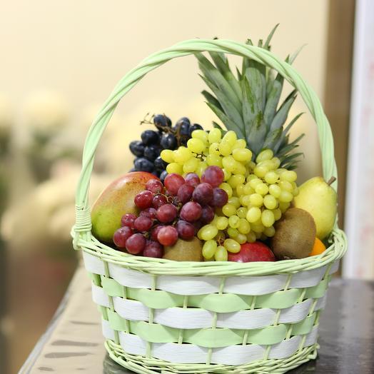 Корзина фруктов люкс