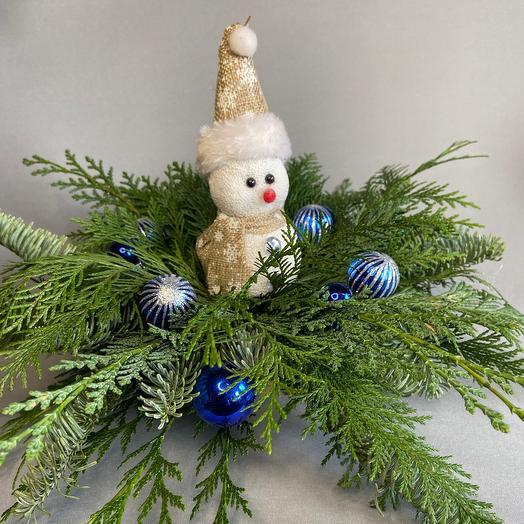 Снеговик спешит на помощь