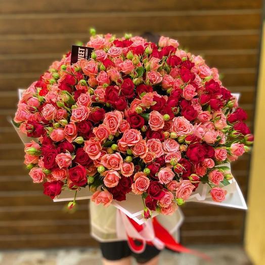 51 spray roses