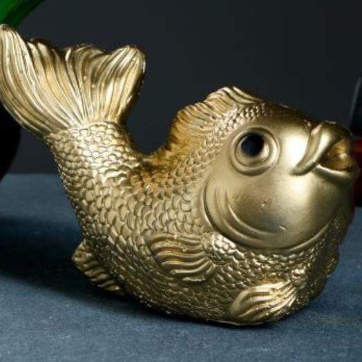 """Копилка """"Рыбка"""" золотая"""
