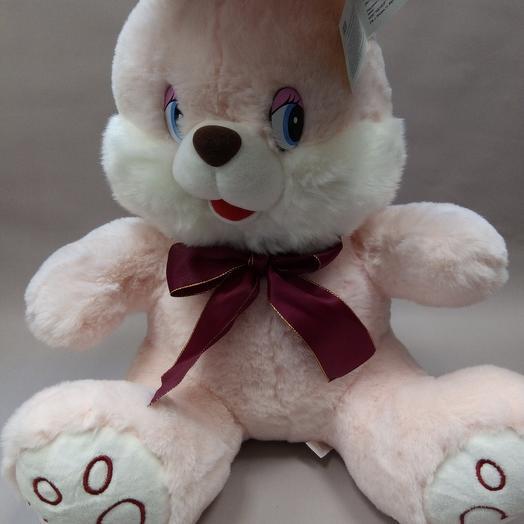 """Кролик """"Лаврик"""" розовый"""