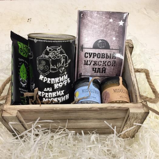 Ящик подарочный мужской