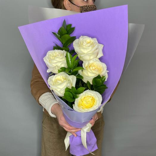 Букет Ароматных Пионовидных роз
