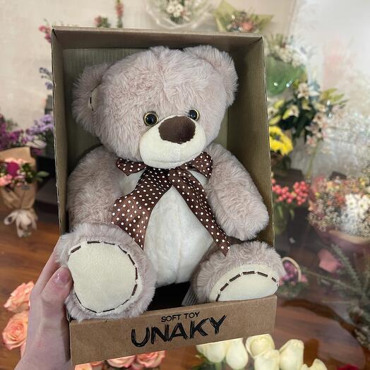 Мягкая игрушка «Коричневый медвежонок»