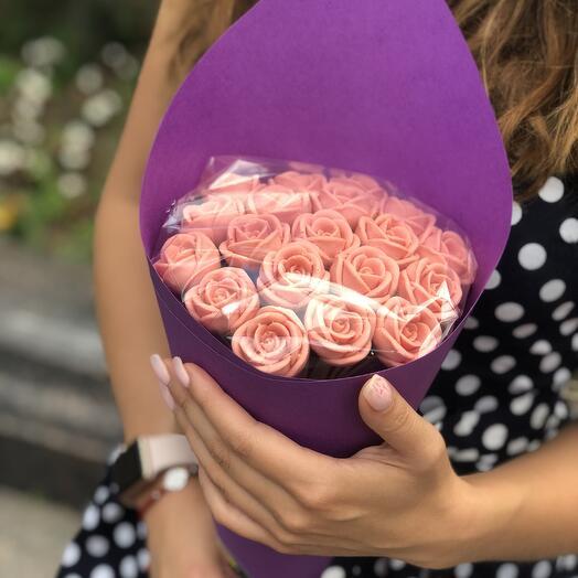 Шоколадные розы-3