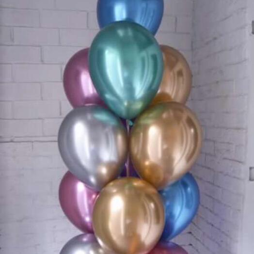 Композиция из 11 шаров