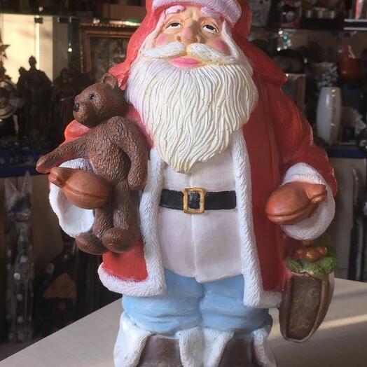 Дед Мороз с мишкой