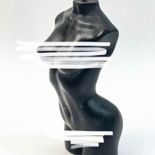 Свеча Ева 15 см