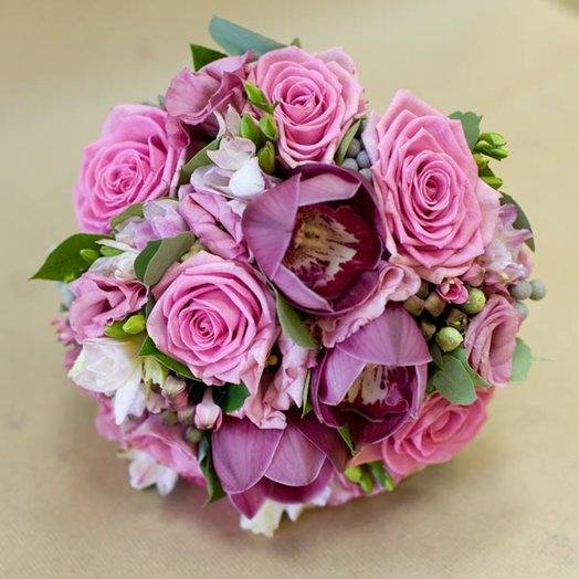 Букет невесты Леонсия: букеты цветов на заказ Flowwow