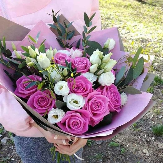 Букет Моя нежная: букеты цветов на заказ Flowwow