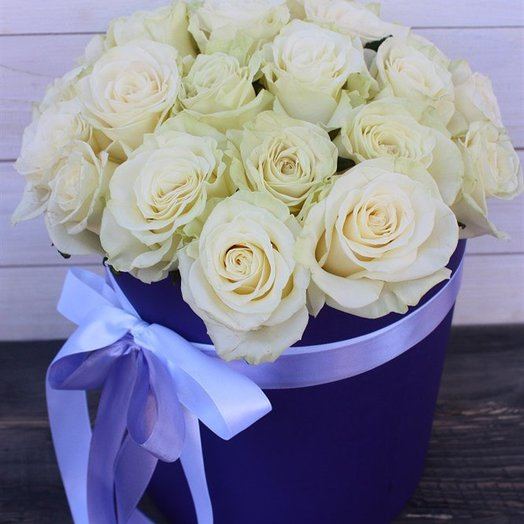 Нежная коробочка: букеты цветов на заказ Flowwow