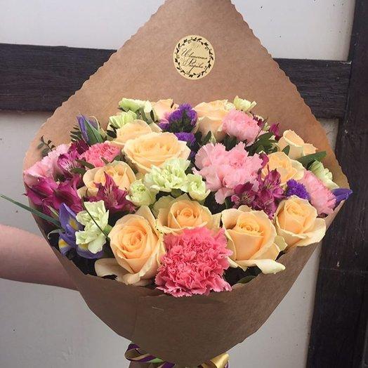 Винтажный: букеты цветов на заказ Flowwow