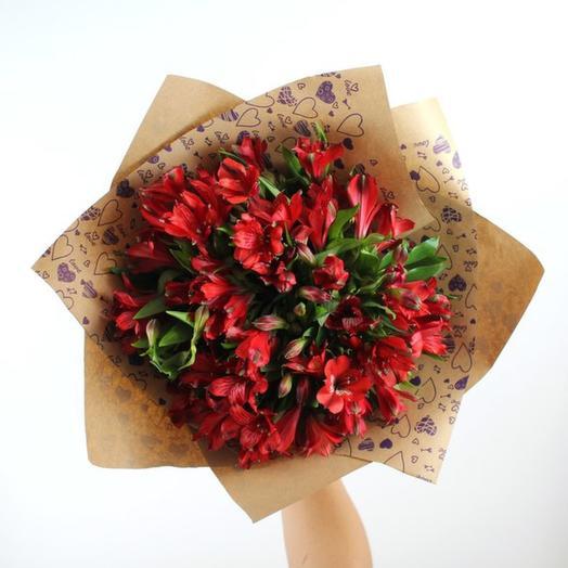 Священное пламя: букеты цветов на заказ Flowwow