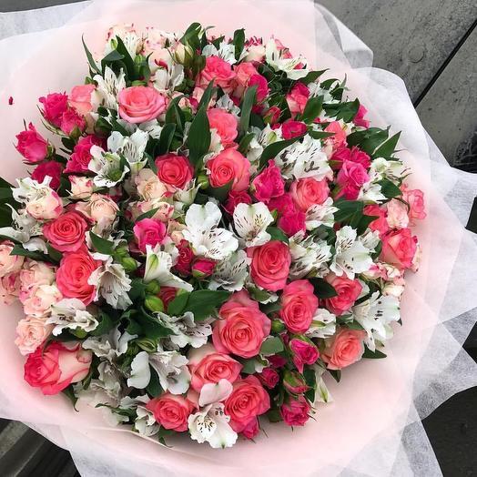 Волшебство для настоящих принцесс: букеты цветов на заказ Flowwow