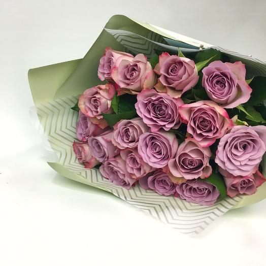 Монобукет роз, 19шт: букеты цветов на заказ Flowwow