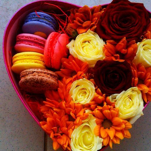Печенье и Розы: букеты цветов на заказ Flowwow