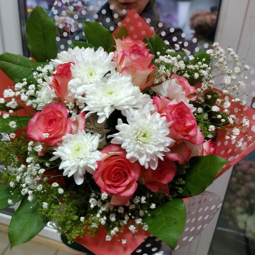 Розы в горошек: букеты цветов на заказ Flowwow