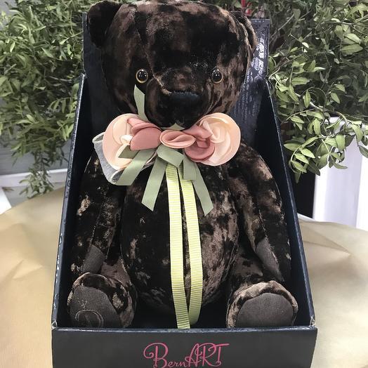 Мягкая игрушка «Медведь БернАрт» белый, Budi Basa, 30 см, Россия: букеты цветов на заказ Flowwow