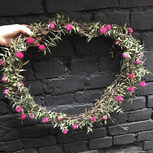 Жгучее сердце: букеты цветов на заказ Flowwow