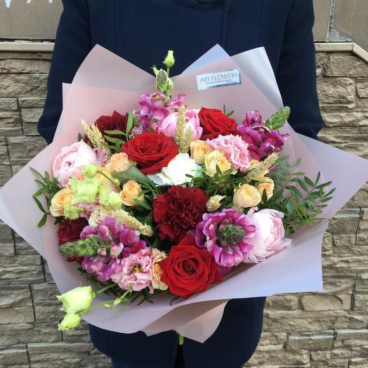 Самбо: букеты цветов на заказ Flowwow