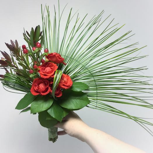 Букет невесты веерный: букеты цветов на заказ Flowwow