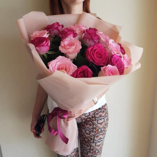 Розовый 19: букеты цветов на заказ Flowwow