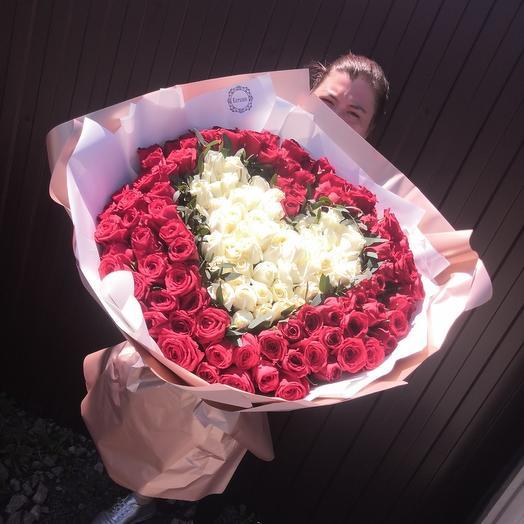 151 длинная роза: букеты цветов на заказ Flowwow
