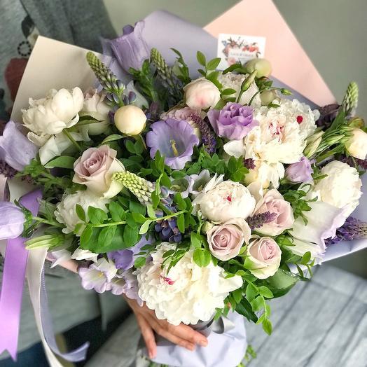 Букет «Меган»: букеты цветов на заказ Flowwow