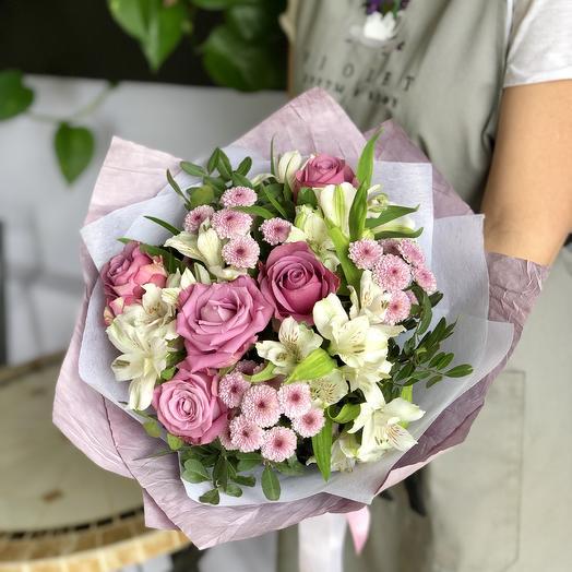 Букет Магнолия: букеты цветов на заказ Flowwow