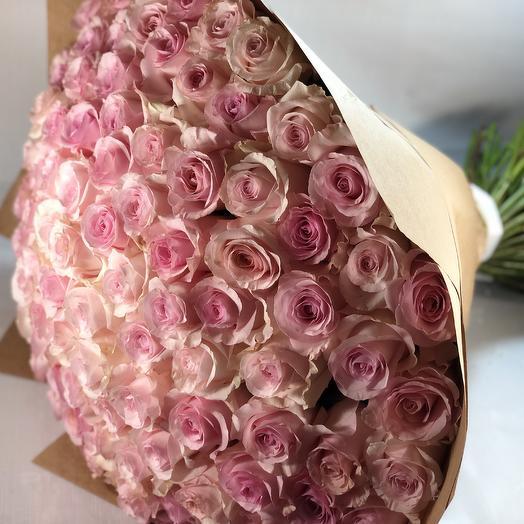 101 роза нежная