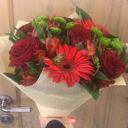 """Букет цветов для Бабушки """"Вдохновение"""""""