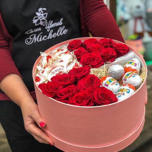 Вкусный сюрприз: букеты цветов на заказ Flowwow
