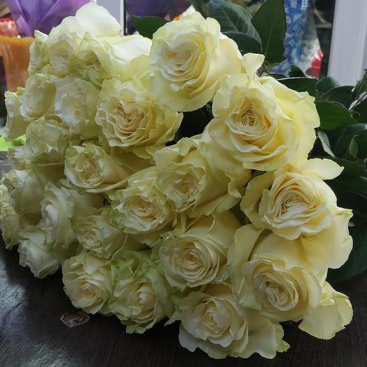 25роз 60см: букеты цветов на заказ Flowwow