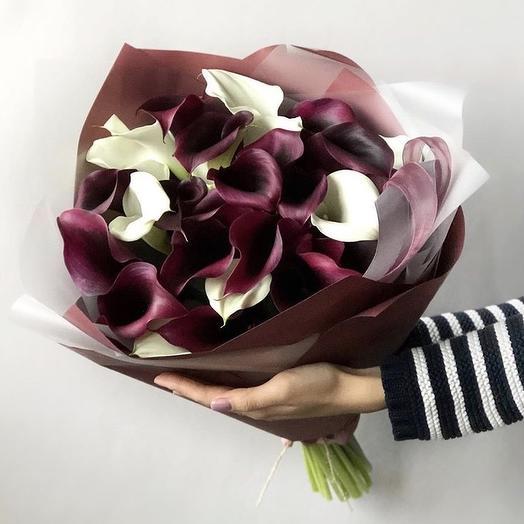 Черничные грёзы: букеты цветов на заказ Flowwow