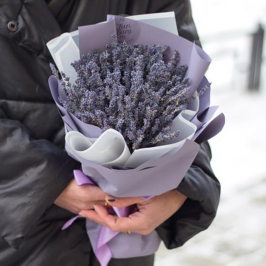 Букет лаванды «Лавандовые сны»: букеты цветов на заказ Flowwow