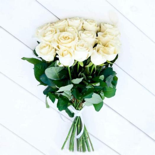 Белая: букеты цветов на заказ Flowwow