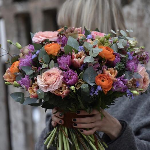 """Букет цветов""""Игра чувств"""""""