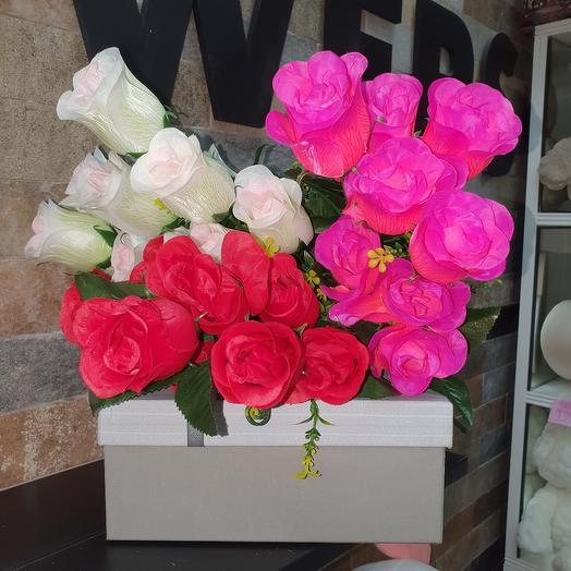 Роза искусственная