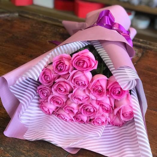 Букет роз «Нежный лепесток»