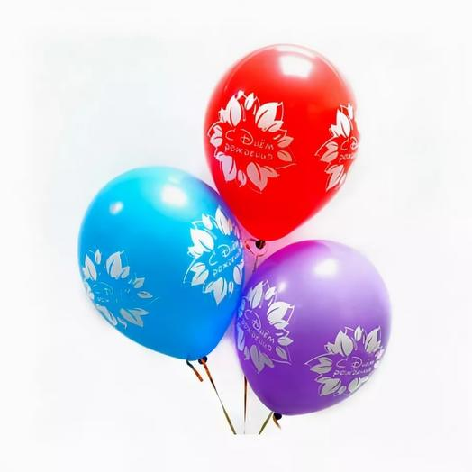 3 воздушных шарика