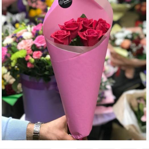 Розы Кения в оформлении