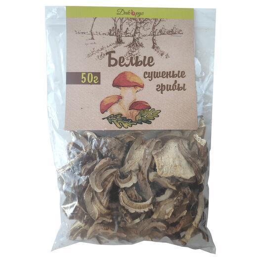 Сушеные белые грибы (высший сорт) 50 гр