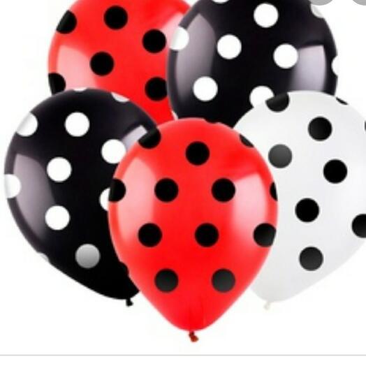 Набор из пяти воздушных шаров