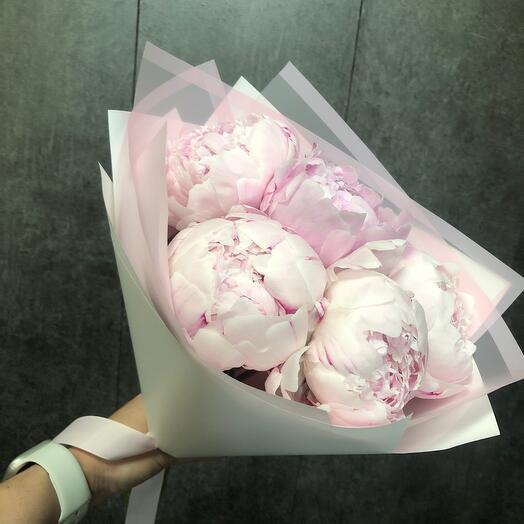 """Bouquet """"Delicate peony"""""""