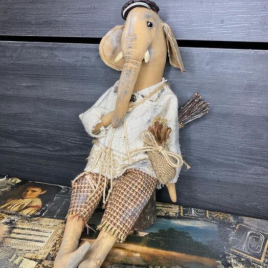 Авторская игрушка Слон
