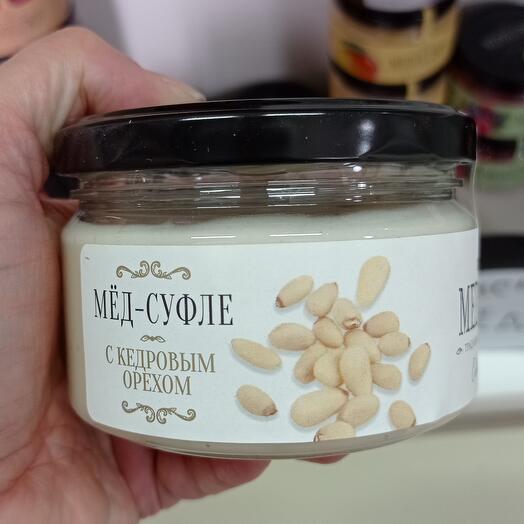 Мёд-суфле с кедровым орехом