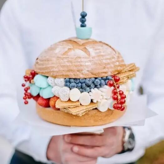 Бургер десертный
